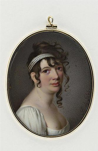 DE ROSSI Pietro c 1800 portrait.